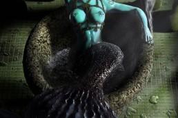 Oil Slick Mermaid by Trickmonkey & Andy Monks