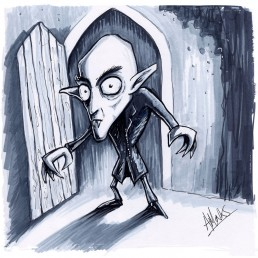 Halloween Beastie Nosferatu - by Trick Monkey / Andy Monks
