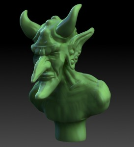 Demon King Zbrush Andy Monks
