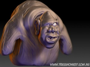 Igor Speed Sculpt by Andy Monks , Trick Monkey