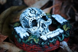 Blessing Skull Magic Art Object by Trick Monkey and Andy Monks