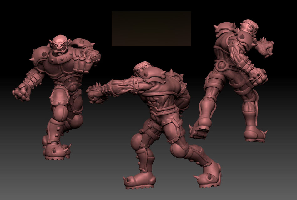 Slaughterball Slasher, Model by Andy Monks / Trick Monkey