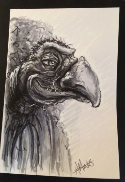 Dark Crystal Skeksis Fan Art