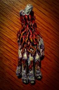 Trick Monkey Voodoo Hand Trinket